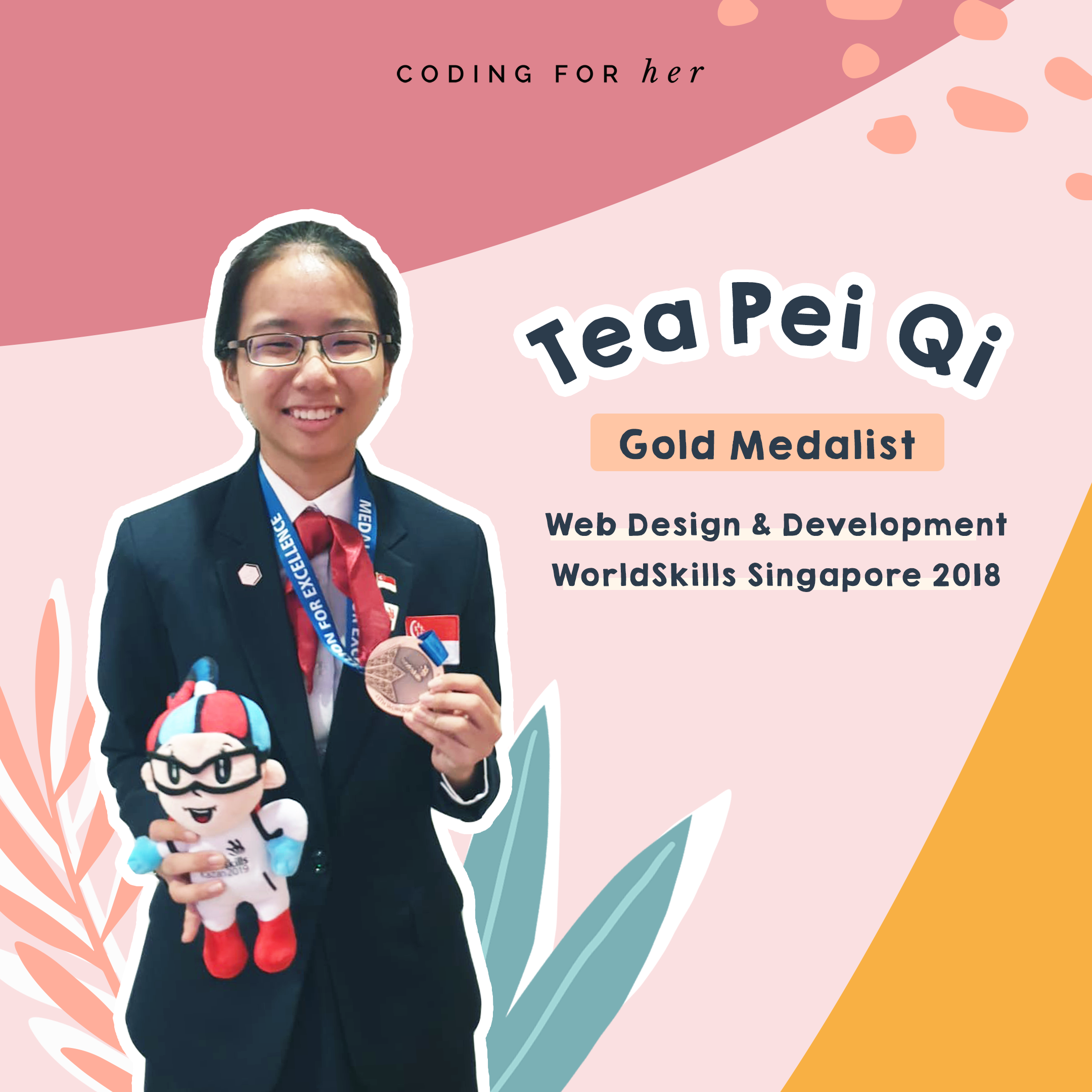 Interview with Tea Pei Qi – Competitor in World Skills 2019